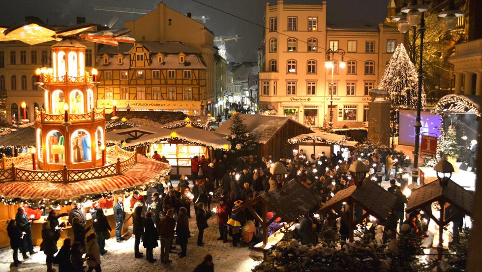 Schwerin Weihnachtsmarkt 2021